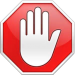 Adblock blokkeert advertenties